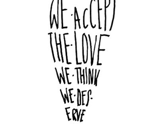 love, quote, and heart image
