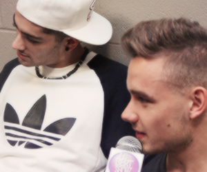 interview, liam payne, and zayn malik image