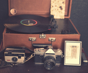 camera, music, and photography image