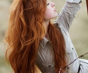 ginger, model, and red hair image