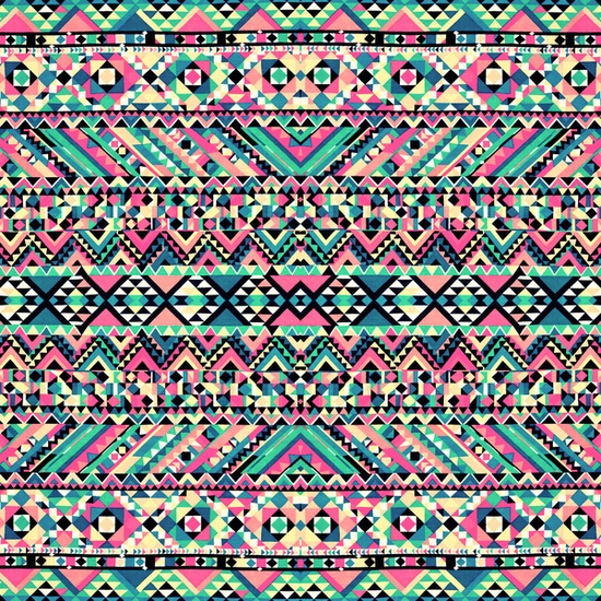 Aztec Print Wallpaper Buscar Con Google On We Heart It