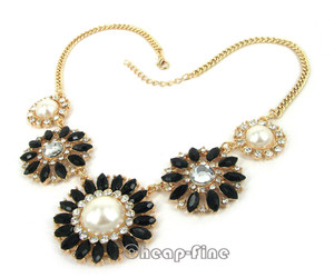 black, flower, and gold image