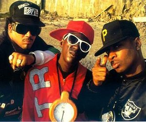 90s, clock, and flavor flav image