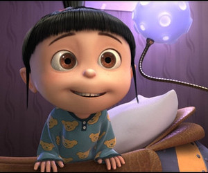 agnes, despicable me, and minions image