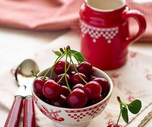 cherry, red, and fruit image