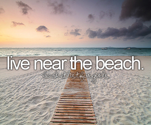 beach, summer, and before i die image