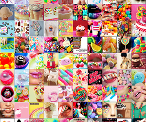 colourful, different, and sweet image