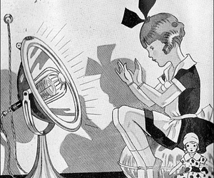 1930s, vintage ad, and girl image