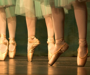 ballet, ballet shoes, and shoes image