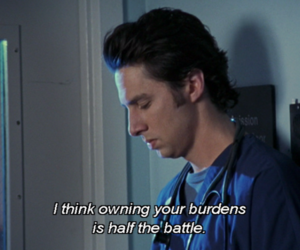 jd, quote, and scrubs image