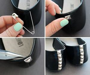 diy, do it yourself, and shoes image