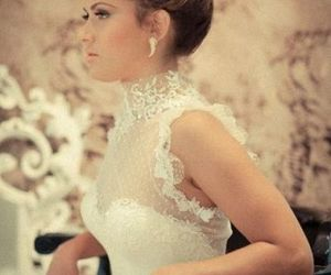 bride, hair, and hairstyles image
