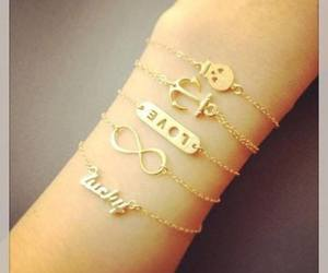 love, bracelet, and cute image