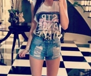 kylie jenner and shorts image