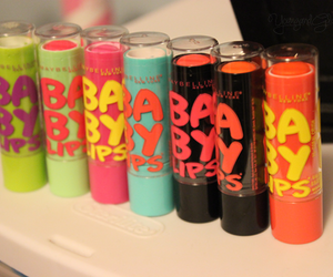 baby lips, lips, and makeup image
