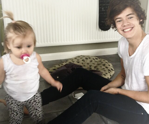 Harry Styles, one direction, and baby lux image