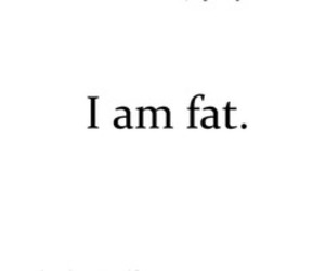 anorexic, fat, and girl image