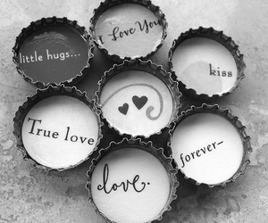 love, kiss, and forever image