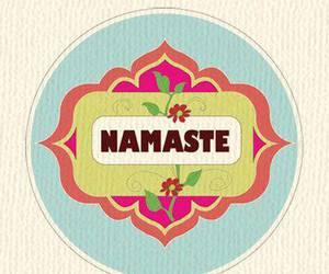 namaste and yoga image