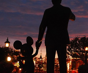 walt disney, disney, and mickey image