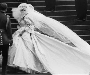 wedding, princess diana, and diana image