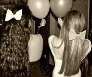 balloons, bows, and dresses image