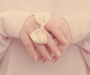 bow, ring, and pink image