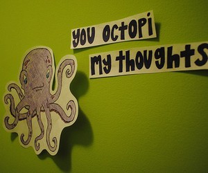 octopus, text, and thoughts image