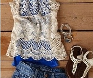 summer, outfit, and cute image