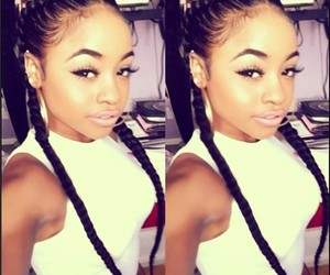 braids and cute image