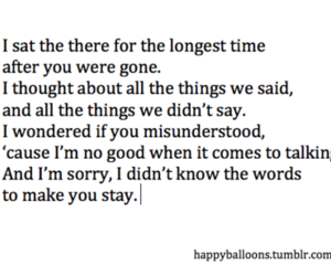 text, hurt, and sorry image