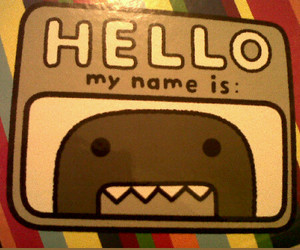 domo, sweet, and cute image
