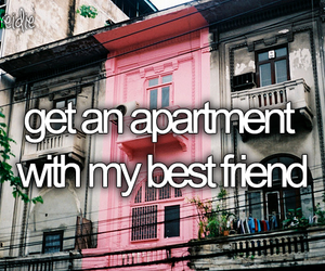 apartment, best friends, and pink image