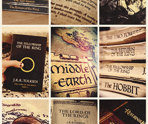 book, middle earth, and the hobbit image