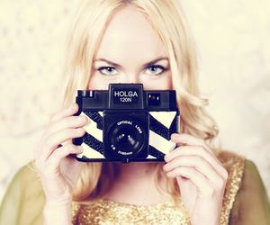 camera, holga, and vintage image