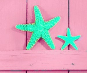 pink, summer, and stars image