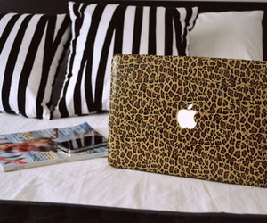 apple, laptop, and awesome image