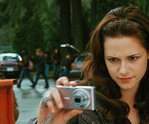 bella swan, edward cullen, and new moon image