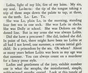 lolita, nabokov, and one image