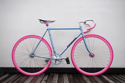 bike via tumblr shared by frederique on we heart it