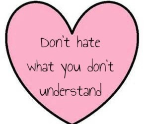 heart, hate, and pink image