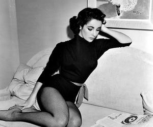 Elizabeth Taylor, vintage, and 50s image