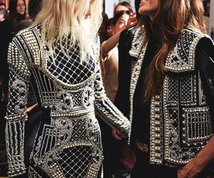 fashion, model, and Balmain image