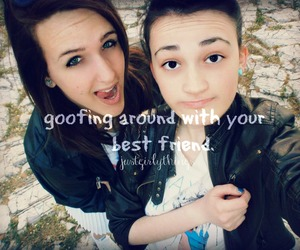 <3, lol, and bff image
