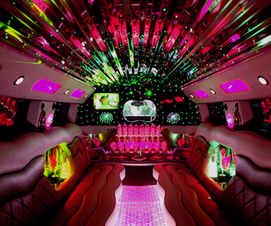 limo, light, and luxury image