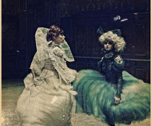 dress, vampire, and women image