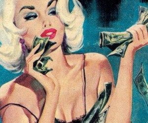 money and blonde image