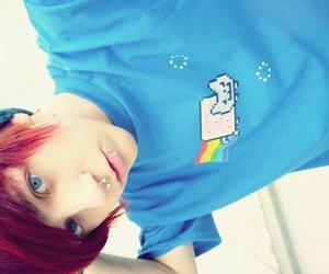 red hair and boy image