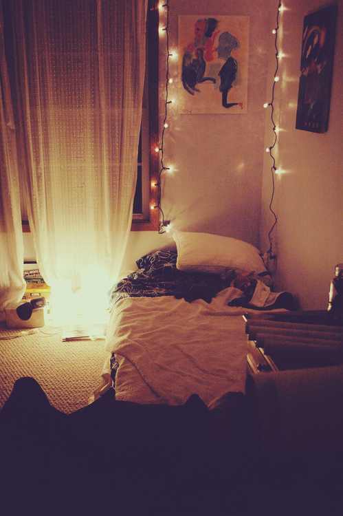 bedroom via tumblr shared by j on we heart it