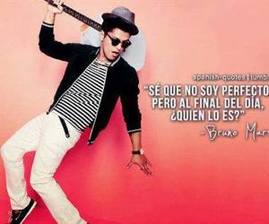 bruno mars, frases, and perfect image